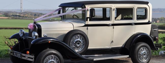 Bramwith Barnsdale Vintage Wedding Car